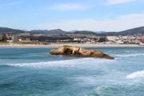 Vista da praia de Altar