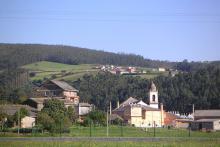 Paisaje de San Xulián de Cabarcos